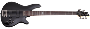 Schecter C-5 SGR by Schecter in Gloss Black BLK SKU 3824 - The Guitar World
