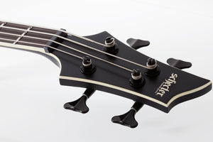 SCHECTER SLS Evil Twin-4 Satin Black 4 STRING BASS - 1392