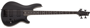 SCHECTER SLS Evil Twin-4 Satin Black 4 STRING BASS - 1392 - The Guitar World
