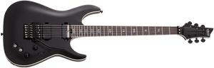 SCHECTER C-1 FR S SLS Evil Twin Satin Black - 1348 - The Guitar World