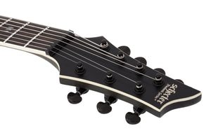 Schecter Evil Twin 7 String Electric Guitar with Swamp Ash Body - Satin Black 1349-SHC - The Guitar World