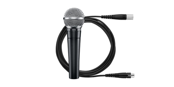 Shure SM58 Cardioid Dynamic Vocal Microphone with Cable Included - The Guitar World