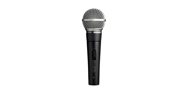SM58S Cardioid Dynamic Vocal Microphone with ON/OFF Switch
