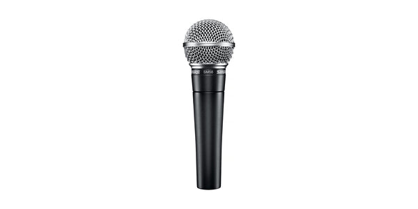 Shure SM58 unidirectional (cardioid) dynamic vocal microphone