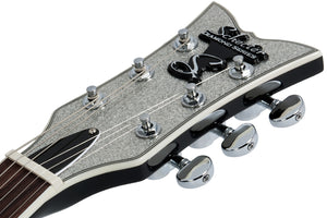 Schecter Solo-6B in Silver Sparkle SIL S SKU 176 - The Guitar World
