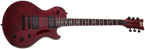 Schecter Solo-II Apocalypse Electric Guitar Red Reign 1293-SHC - The Guitar World