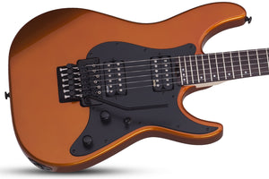Schecter Sun Valley Super Shredder FR in Lambo Orange LOR SKU 1281