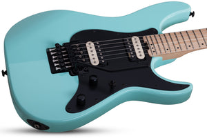 Schecter Sun Valley Super Shredder FR in Sea Foam Green SFG SKU 1280 - The Guitar World