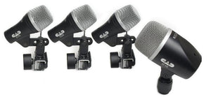 CAD 4 piece Drum Microphone Pack - two D29 one D19 one D10 STAGE4