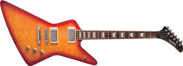 Hamer XT Series Standard – Flame Top Cherry Sunburst STDF-CS - The Guitar World