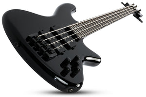 Schecter Stiletto Stage-4 in Gloss Black BLK SKU 2481