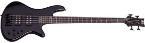 Schecter Stiletto Stage-4 in Gloss Black BLK SKU 2481 - The Guitar World