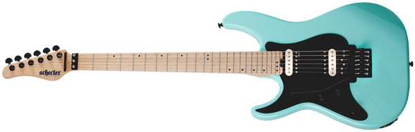Schecter Sun Valley Super Shredder FR Left Handed Electric Guitar Sea Foam Green 1286-SHC