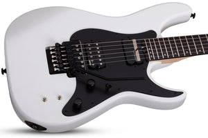 Schecter Sun Valley Super Shredder FR S in Gloss White SKU 1284 - The Guitar World