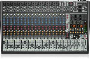 BEHRINGER EURODESK SX2442FX Ultra-Low Noise Design 24-Input 4-Bus Studio/Live Mixer with XENYX Mic Preamplifiers, British EQs and Dual Multi-FX Processor - The Guitar World