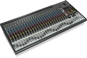 BEHRINGER EURODESK SX3242FX Ultra-Low Noise Design 32-Input 4-Bus Studio/Live Mixer with XENYX Mic Preamplifiers, British EQs and Dual Multi-FX Processor - The Guitar World