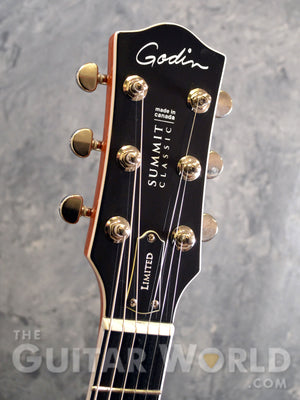 Godin Summit Classic Ltd  Cognac Burst
