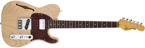 G&L Tribute ASAT CLASSIC BLUESBOY SEMI-HOLLOW in Natural Gloss