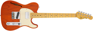 G&L Tribute ASAT CLASSIC BLUESBOY SEMI-HOLLOW in Clear Orange