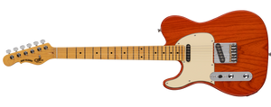 G&L Tribute ASAT CLASSIC LEFTY Clear Orange