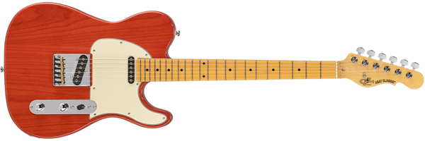 G&L Tribute Series ASAT Classic Clear Orange