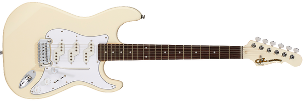 G&L Tribute Comanche Electric Guitar - Olympic White - The Guitar World