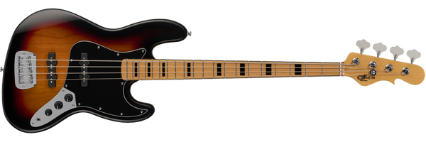 G&L Tribute JB BASS in 3-Tone Sunburst