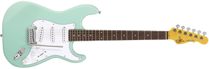 G&L Tribute Legacy Electric Guitar Surf Green Rosewood Fretboard