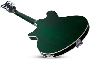 Schecter T S/H-1B in Emerald Green Pearl SKU 291