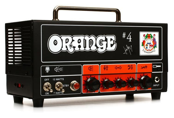 Orange Jim Root #4 Signature 15 Watt Guitar Head - The Guitar World