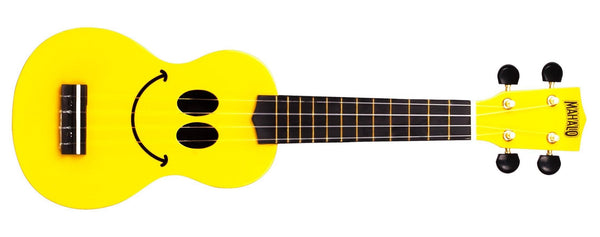 Mahalo Ukuleles Yellow U Smile Soprano Ukulele U-SMILE-YW - The Guitar World