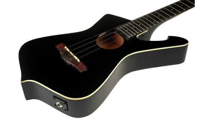 Ibanez UICT10-BK Ukulele - The Guitar World