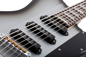 Schecter Robert Smith UltraCure VI Silver Burst Pearl SKU 363 - The Guitar World