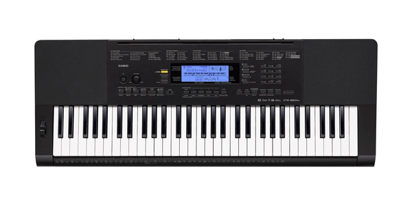 Casio CTX800 61 Note Touch Reponsive Electric Keyboard