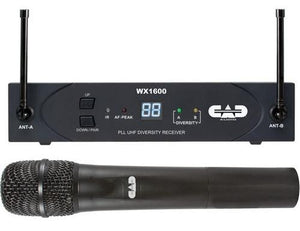 CAD Wireless Microphones And Transmitters WX1600G