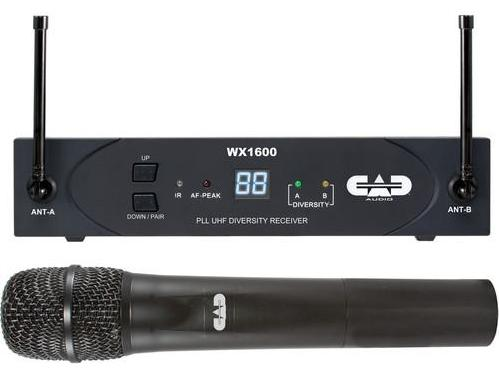 CAD Wireless Microphones And Transmitters WX1600G - The Guitar World