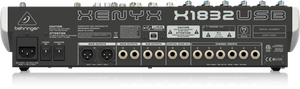 BEHRINGER XENYX X1832USB Premium 18-Input 3/2-Bus Mixer with XENYX Mic Preamps & Compressors, British EQs, 24-Bit Multi-FX Processor and USB/Audio Interface - The Guitar World