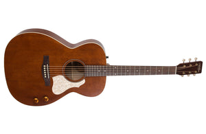 Art & Lutherie Legacy Q-Discrete RH Acoustic Electric Guitar in Havana Brown 047710