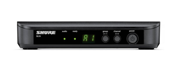 Shure BLX4 Single-Channel Wireless Diversity Receiver with PS23