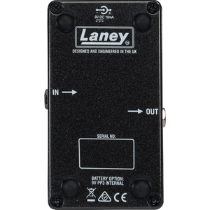 Laney Black Country Customs Monolith Distortion Pedal - The Guitar World