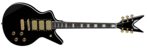 DEAN CADILLAC 1980 3 PICKUP MODEL IN CLASSIC BLACK - The Guitar World