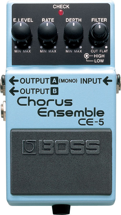 Boss CE-5 Chorus Ensemble Pedal - The Guitar World