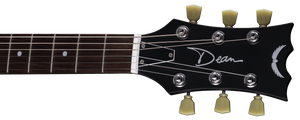 DEAN COLT STANDARD SEMI HOLLOW BODY IN METALLIC GOLD TOP - The Guitar World