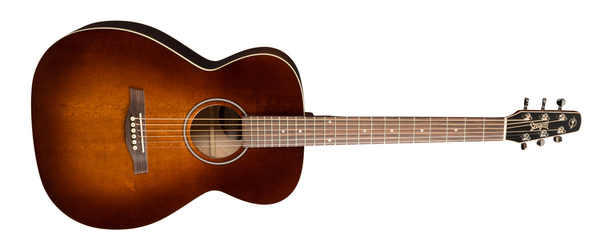 Seagull S6 ORIGINAL SLIM CONCERT HALL BURNT UMBER GT ACOUSTIC ELECTRIC - The Guitar World