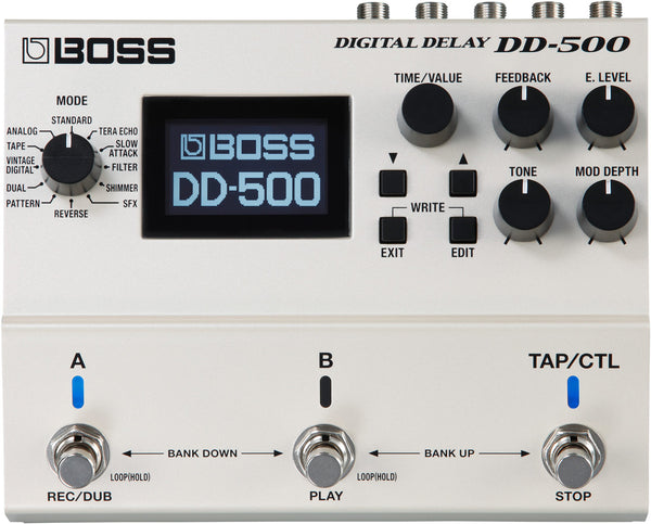 Boss DD-500 Digital Delay Pedal - The Guitar World