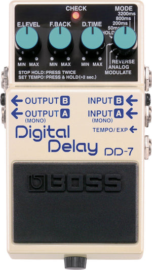 Boss DD-7 Digial Delay Pedal - The Guitar World