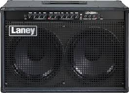 Laney LX120RT 120 Watt 2x12 Guitar Combo Amp Black - The Guitar World