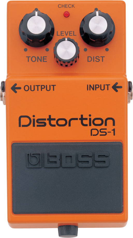Boss DS-1 Distortion Pedal - The Guitar World
