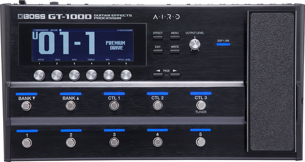 Boss GT-1000 Guitar Effects Processor Pedal - The Guitar World