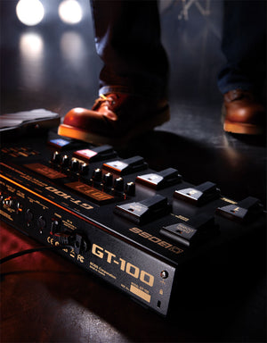 Boss GT-100 Multi Effects Pedal - The Guitar World